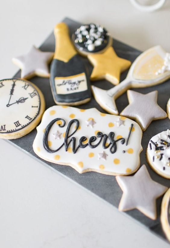 NYE Cookies & Bubbly Party