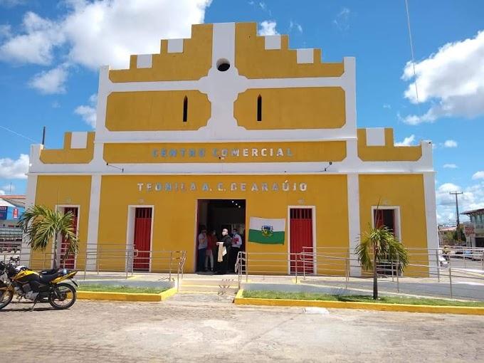 Prefeitura de Angicos inaugura obra do novo mercado: Centro Comercial Teonila de Araújo