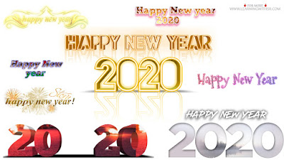 happy new year png 2020