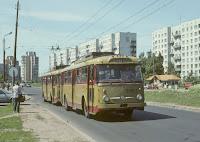 Троллейбус рига