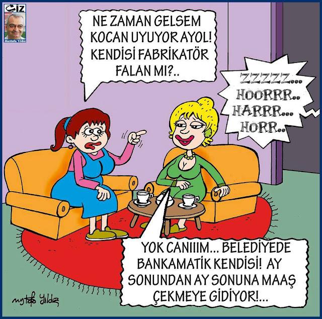 Bankamatik Memuru | Mustafa Yıldız