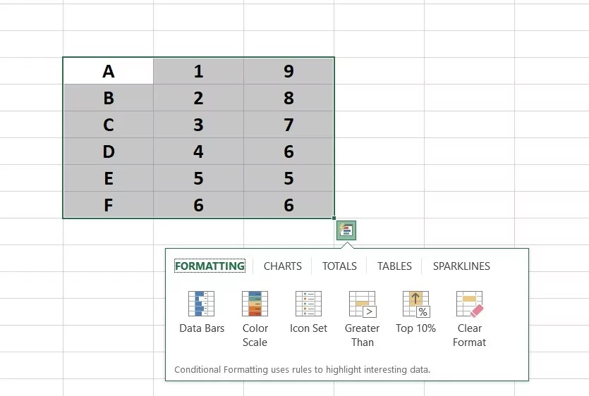 What is Quick Analysis Tool?