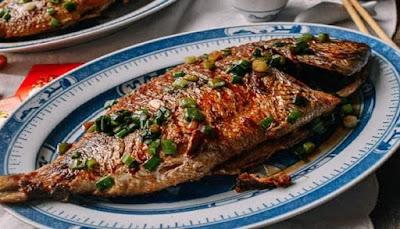 تحضير وعمل السمك المقلي المقرمش بالخلطة السرية