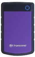 Transcend StoreJet 25H3P 2.5 inch 1 TB External Hard Disk