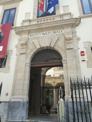Entrata del Museo Archeologico Regionale A. Salinas