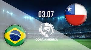 مباراة البرازيل وتشيلي اليوم