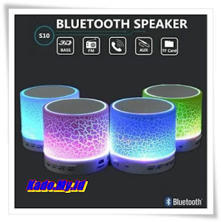 Speaker Mini Bluetoth Bulat