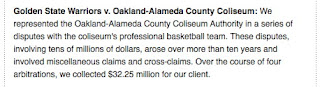 Oakland Coliseum Vs. Golden State Warriors Litigation Update