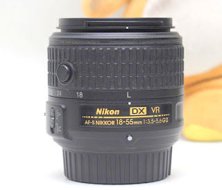 Lensa Kit 18-55mm VR2 Nikon Bekas
