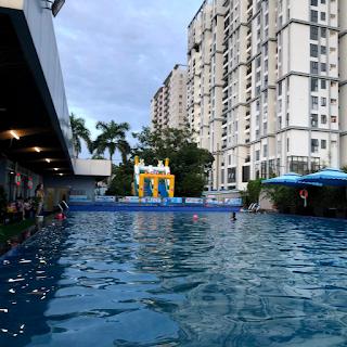 hồ bơi kdc greenlife 13c xã phong phú