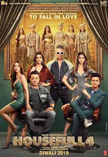 Housefull 4 (2019) Hindi Movie Pre-DVDRip | 720p | 480p