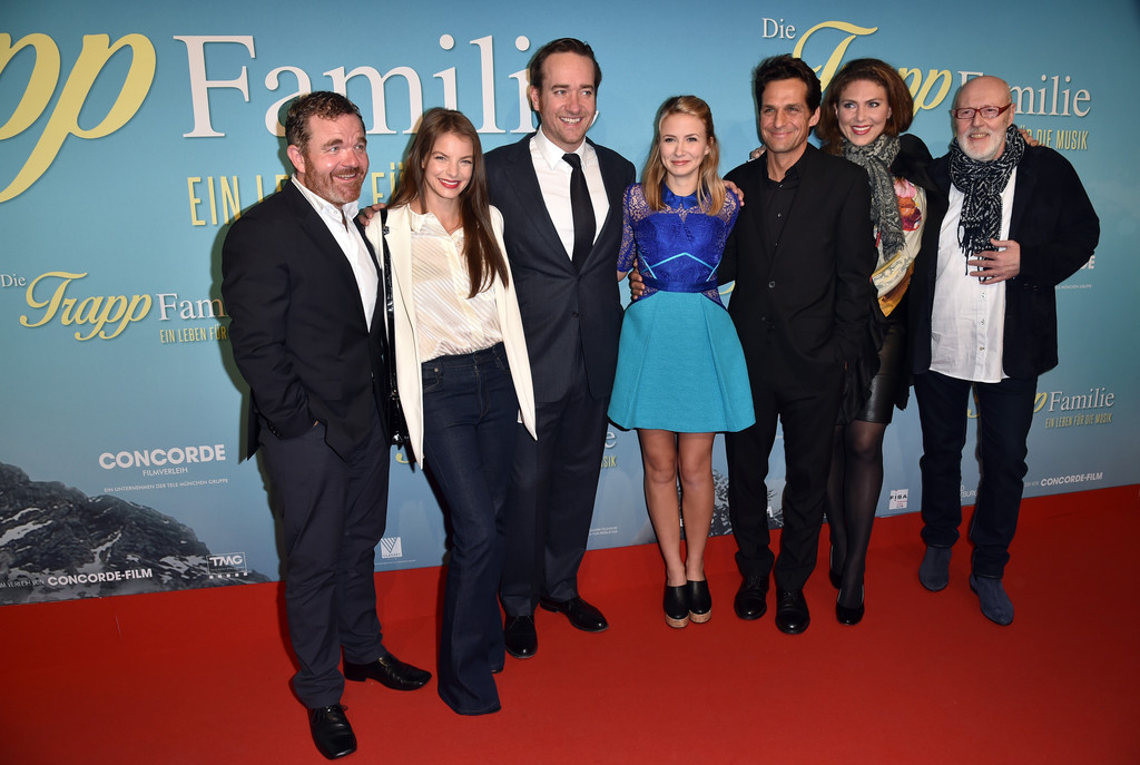 photos video matthew macfadyen at the trapp family a life of music german premiere updated