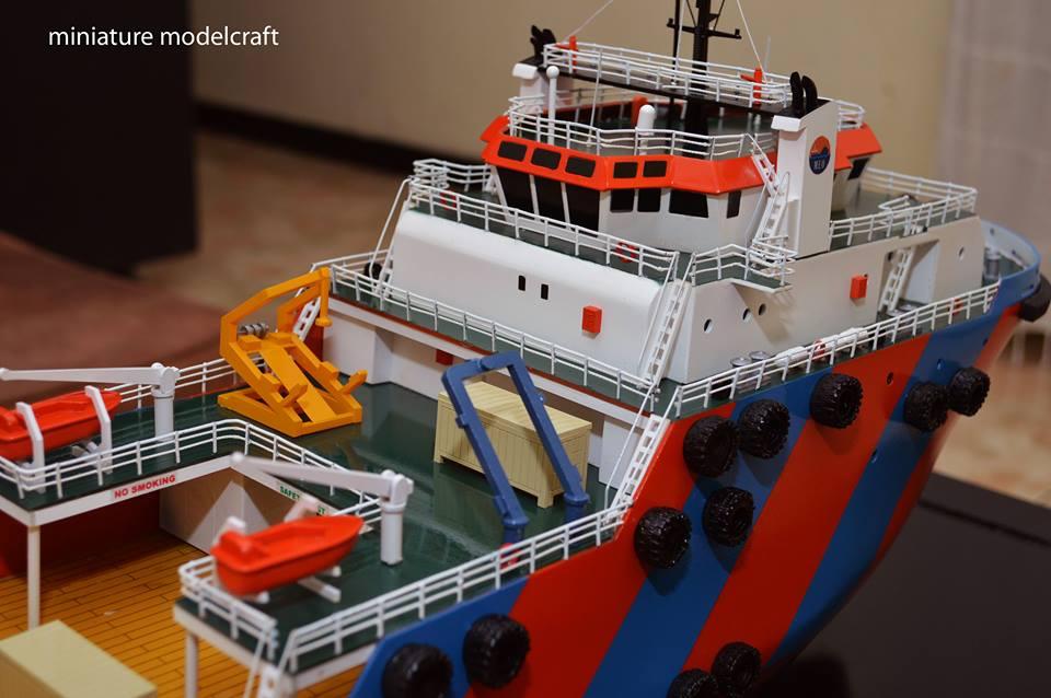 foto gambar miniatur kapal miclyn enterprise meo group miclyn express offshore singapore terbaru