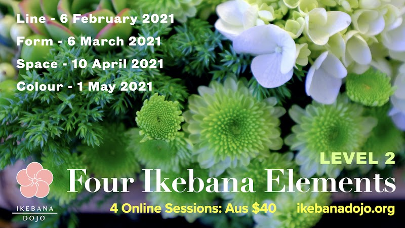 Four Ikebana Elements - Level 2