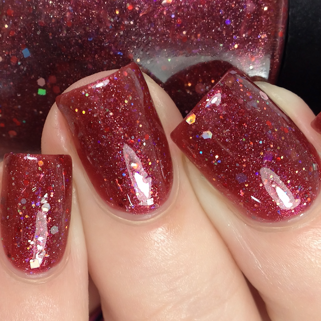 All Mixed Up Lacquers-Cherry On The Rocks