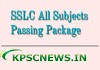 SSLC English Passing Package