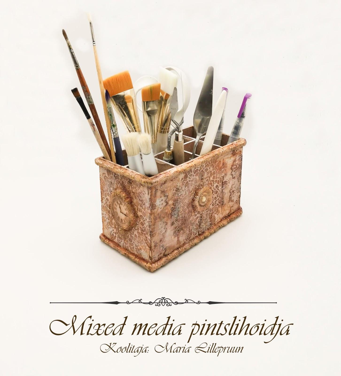 Vintage stiilis pintslihoidja õpituba - Tallinnas 12.10.2019 kl 10