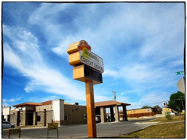 UFO bank, Roswell, USA