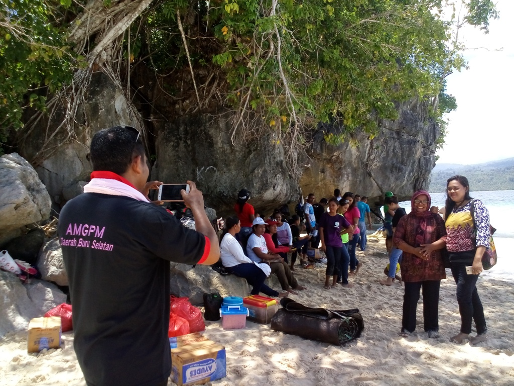 Amgpm Gandeng Kadisbudpar Promosi Wisata Pulau Oki Kompas Timur