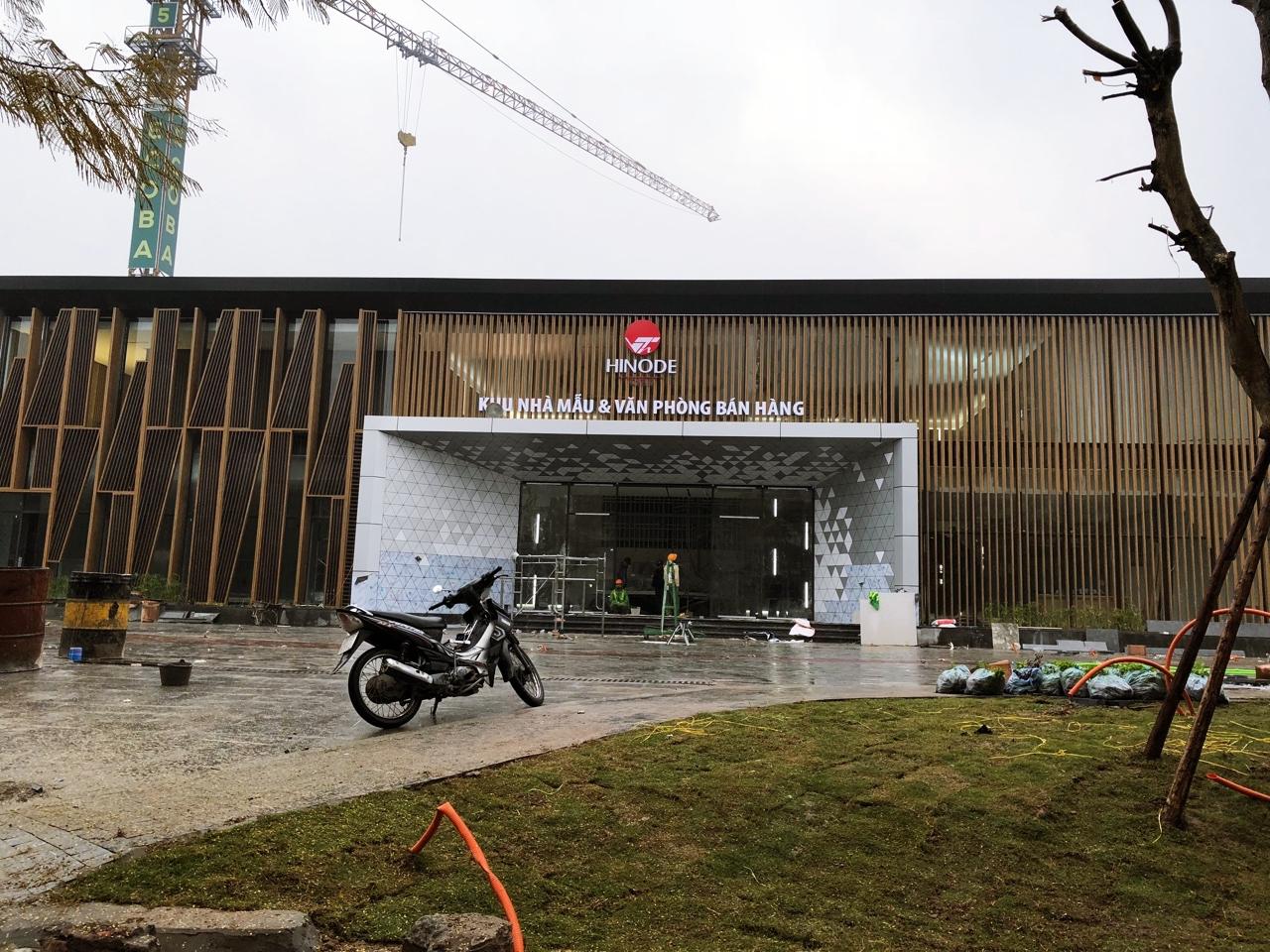 Ngày 13/01/2017 chính thức khai trương nhà mẫu dự án Hinode City