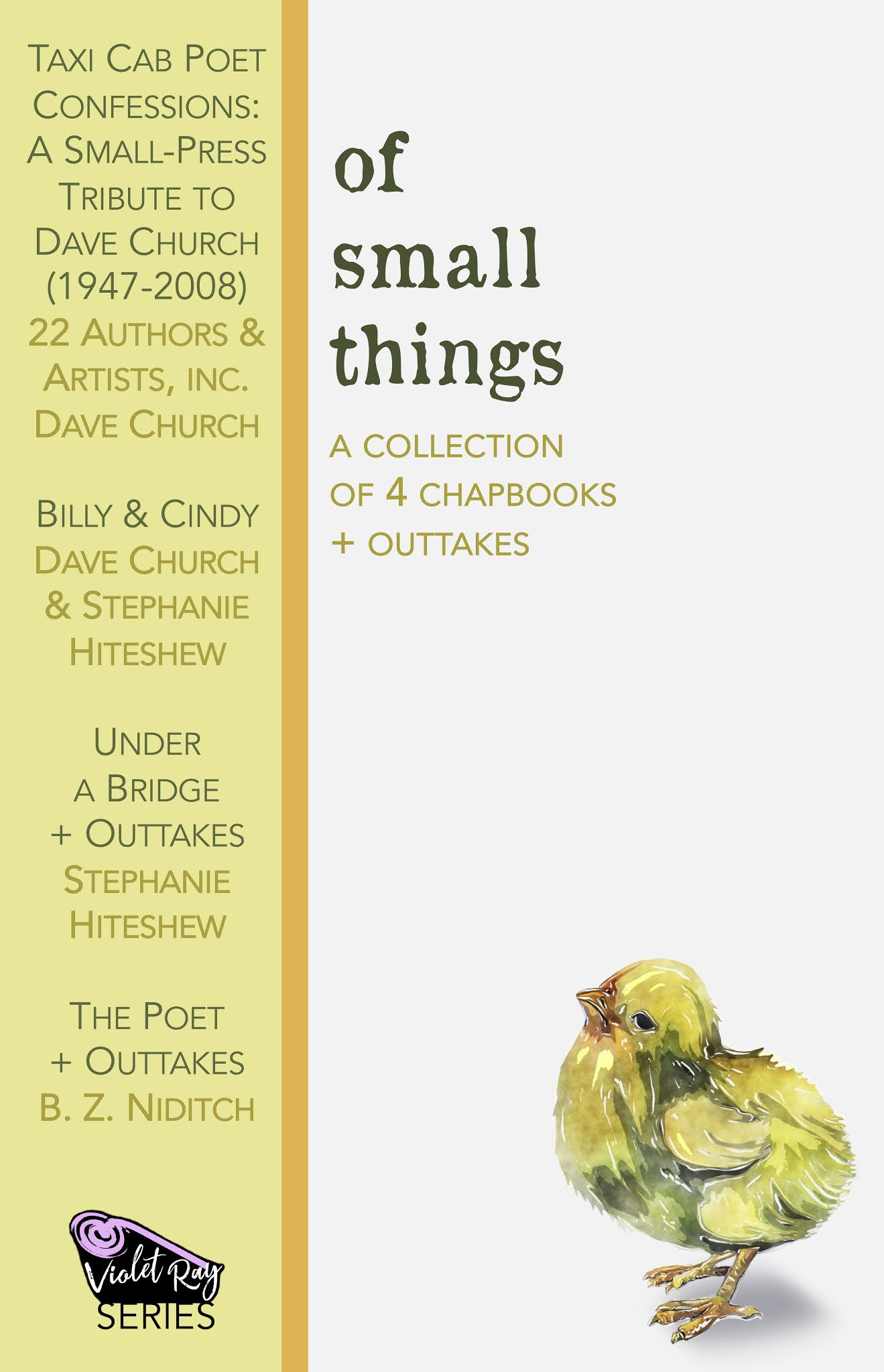 Of Small Things cover artwork