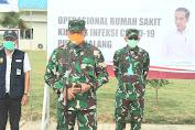 Pangdam I/BB Dampingi Pankogabwilhan I Resmikan Operasional RS Khusus Infeksi Covid-19 Pulau Galang.