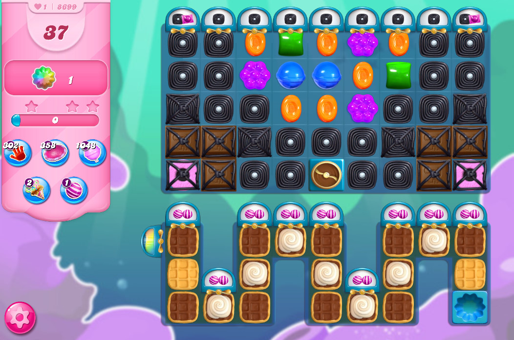 Candy Crush Saga level 8699