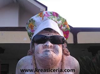 Contoh model topi kupluk dari kain