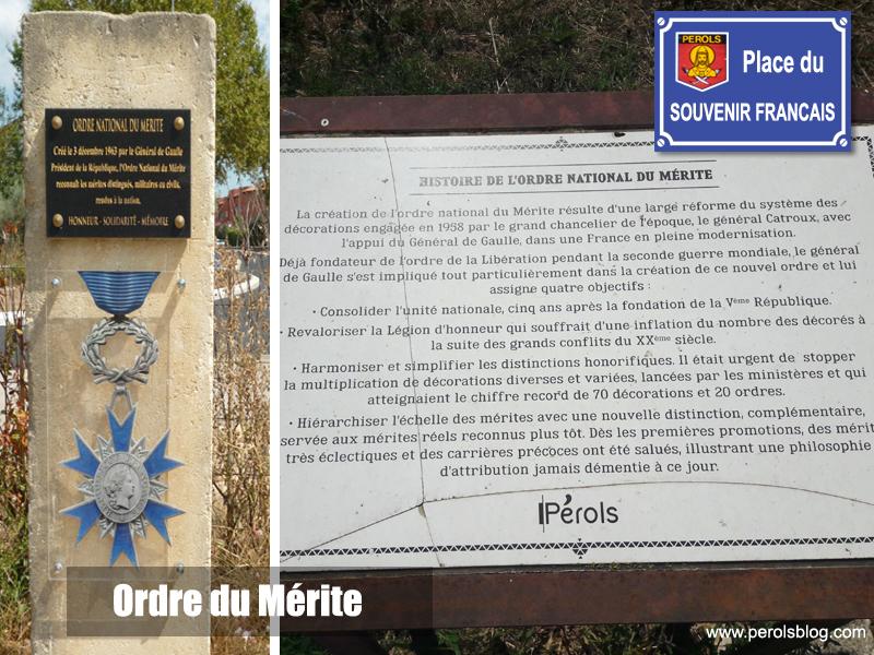Place du Souvenir Français à Pérols