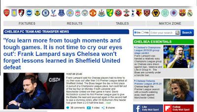 """Báo chí Anh dìm Chelsea """"tới bến"""" sau trận thua sốc, ủng hộ MU vào top 4 2"""