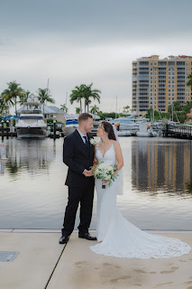 candid bride and groom photo cape coral