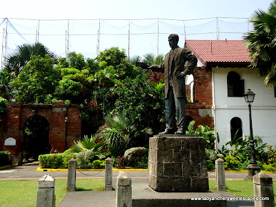 Rizal Philippine National Hero at fort Santiago