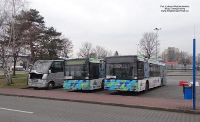 MAN NL263 z PKS Małopolanin i ProBus Rapido 180 z Eurotrans-Bis