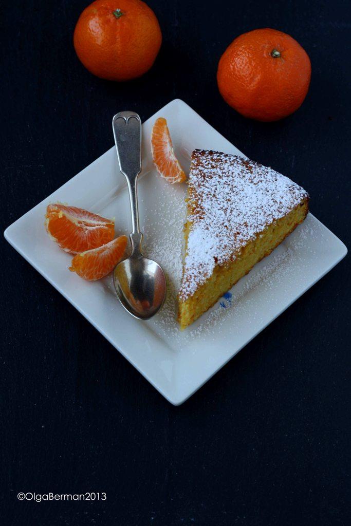 Flourless Clementine Almond Cake Recipe