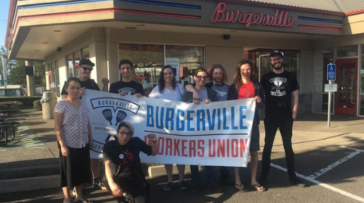 Oregon burger chain changes policy after employees wear 'Abolish ICE' buttons