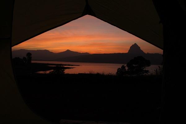 Pawana sunset camping
