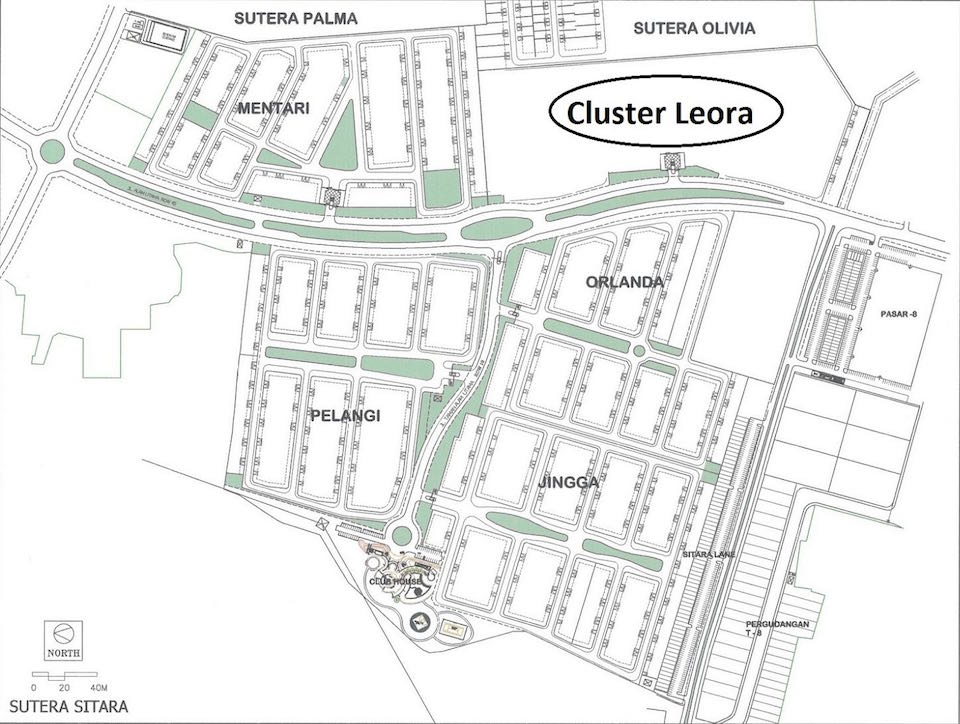 Lokasi LEORA Sutera Sitara