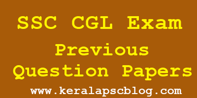 SSC Combined Graduate Level Exam Previous Question Papers