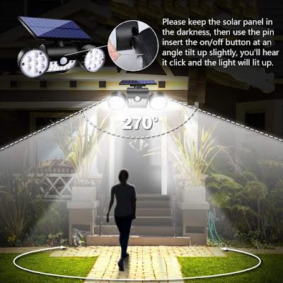 Motion Sensor Security Lights Solar - buythatgo.com