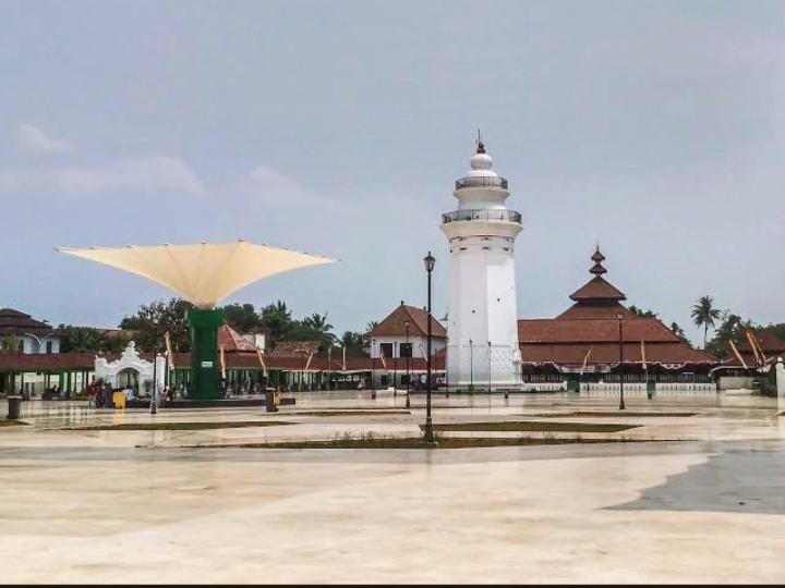 Masjid Agung Banten, Sejarah, Arsitektur dan Filosofi Bangunanya
