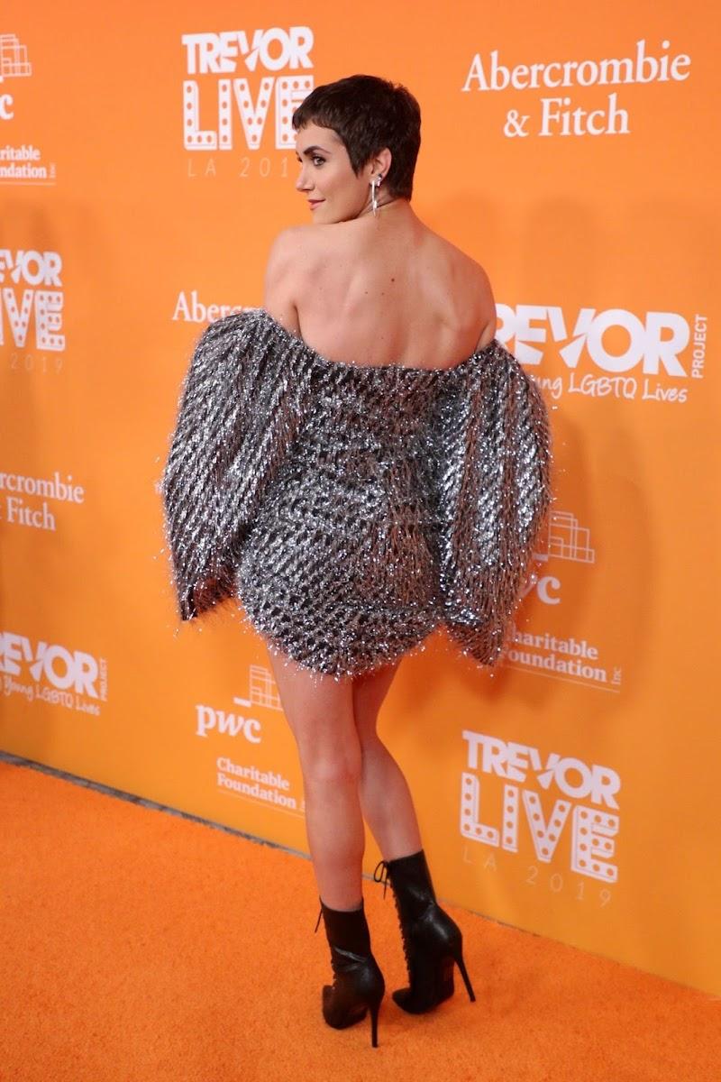 Alyson Stoner Clicks at 2019 Trevorlive Los Angeles Gala 17 Nov-2019