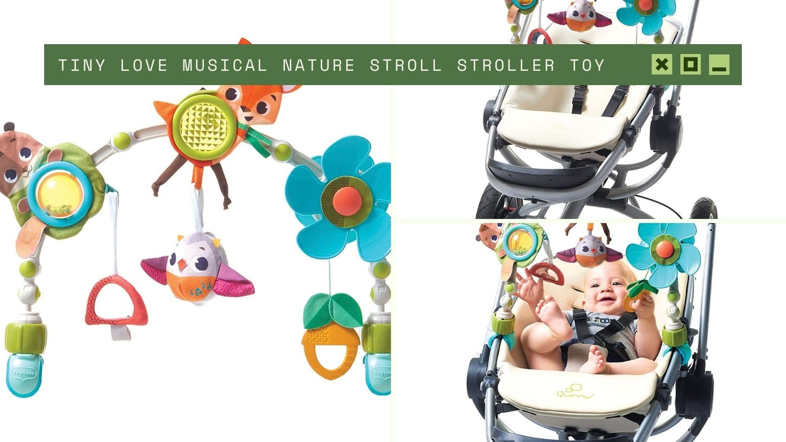 shopping for newborn boy Tiny Love Musical Nature Stroll Stroller Toy