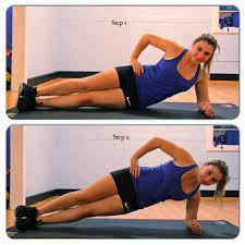 Exercise for Tight and  Flat Abdomin : Side Plank