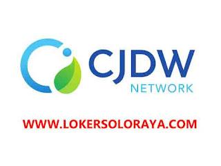 Loker Boyolali Bulan Agustus 2021 di PT Central Java Daya Wiguna Indonesia (CJDW Indonesia)