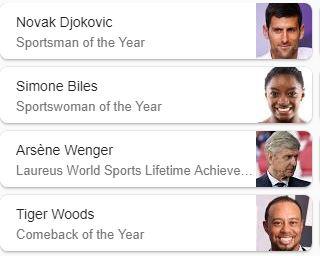 Laureus World Sports Awards 2019 ( স্পোর্টস এর সব থেকে বড় অ্যাওয়ার্ড )