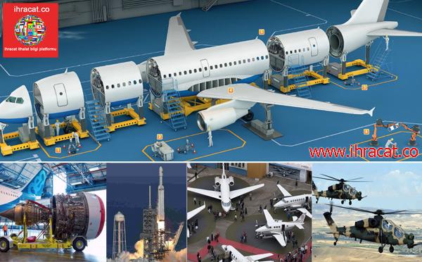 uçak ihracat, havacılık sanayi, boeing, airbus