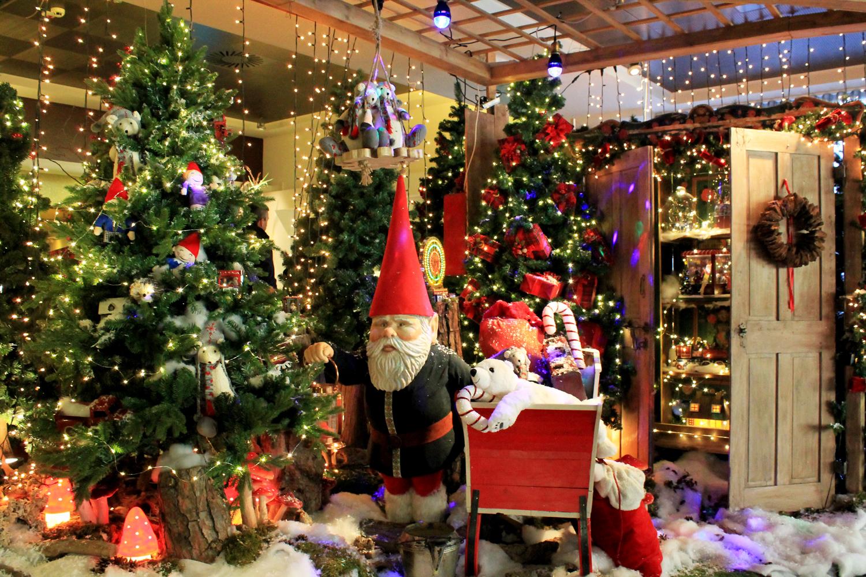 allestimento natalizio Euroterme resort
