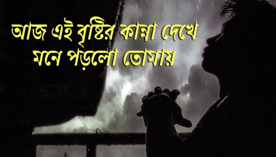 Aaj Ei Bristir Kanna Dekhe Lyrics by Papon