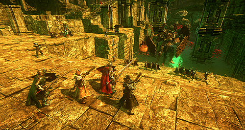 Hell Warders Review, Story & Gameplay