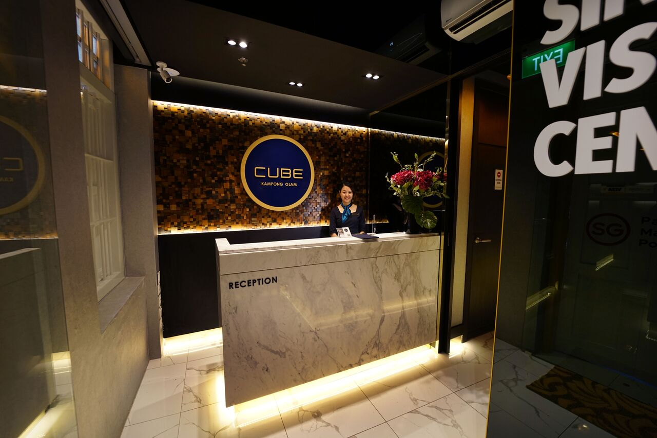 CUBE Boutique Capsule Hotel at Kampong Glam Singapore
